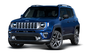 Jeep® Renegade bleu