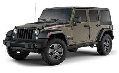 Jeep® Wrangler Unlimited en mode 4x4, Trail Rated